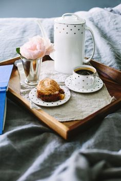 Breakfast in bed is a fun way to help Mom relax on her special day #MothersDay