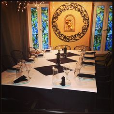 Private Dining room accommodates up to 15 guests. Corporate dinners, private parties and cooking classes www.affrescopizzeria.com