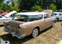 Automotive History: The Short And Odd Life Of The Two Door Station Wagon 1955 Chevy, 1955 Chevrolet, Chevrolet Bel Air, My Dream Car, Dream Cars, Dodge Wagon, Station Wagon Cars, Chevy Nomad, American Auto