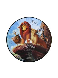 IT'S HERE...and a Hot Topic exclusive! The Lion King Film Soundtrack on Vinyl.