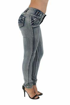 Fashion Bug Plus Size Brazilian Butt Lift Skinny Leg Jeans www.fashionbug.us