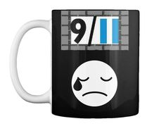 Mugs Special Design Only 9/11 Black T-Shirt Front