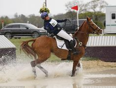 Zara Tindall got into trouble on her horseFernhill FaceTime and suffered a tumble. The mother-of-one was checked over by medical staff but initially seemed unharmed by the fall