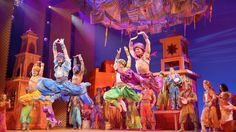 """As Aladdin The Musical prepares for its Sydney production, two workshops are in full gear, creating what are possibly the most exquisite costumes to swish and swirl on an Australian stage in decades. 