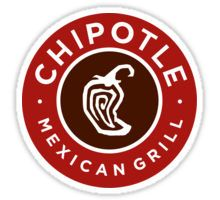 Chipotle Mexican Grill Logo Sticker