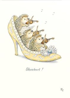 This illustration by Peter Cross is clever, punny and cute at the same time. Art And Illustration, Hedgehog Illustration, Illustration Mignonne, Hedgehog Art, Cute Drawings, Animal Drawings, Desenho Kids, Art Fantaisiste, Art Mignon