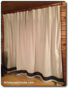 dozens of things to do with a basic drop cloth link window and farmhouse style