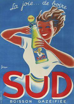 vintage poster SUD La Joie... de boire by vintageposters, via Flickr