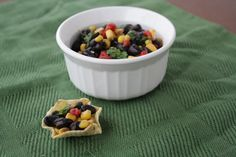 Corn and Cilantro Salad | Vegetarian Casserole Queen