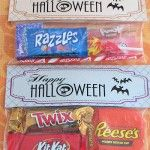 Free Printables.  Great holiday candy bar wrappers, jar toppers, bag toppers.