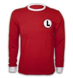 Legia Warschau 1980'S Long Sleeve Retro Shirt 100% Cotton