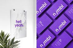 nymbl. by David Robinson and Big Fan, via Behance