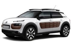 What an absolutely horrendous-looking car #CitroenC4Cactus