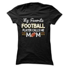My favorite FOOTBALL player calls me mom - #gifts #gift for women. CLICK HERE => https://www.sunfrog.com/LifeStyle/My-favorite-FOOTBALL-player-calls-me-mom-2918-Black-17999237-Ladies.html?68278
