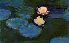 Nympheas Artist: Claude Monet  Year: 1899