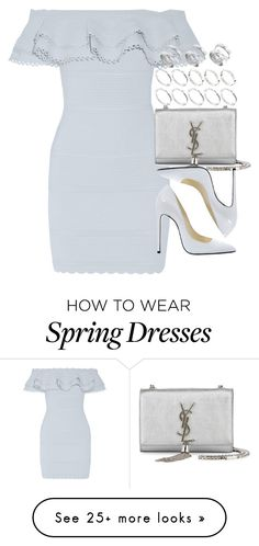 """Look #481"" by foreverdreamt on Polyvore featuring Alexander McQueen, ASOS, Balmain, Yves Saint Laurent, women's clothing, women, female, woman, misses and juniors"