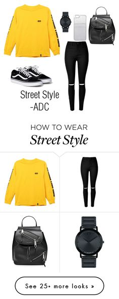 """""""Street Style"""" by anatiller on Polyvore featuring HUF, Marc Jacobs, MICHAEL Michael Kors and Movado"""