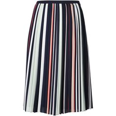 Rebecca Minkoff striped pleated skirt (26.715 RUB) ❤ liked on Polyvore featuring skirts, multicolour, pleated skirt, rebecca minkoff, striped skirt, multicolor skirt and stripe skirt