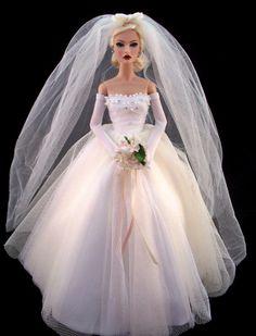 doll bridal gowns barbies weddings 1...6 qw