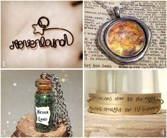 The second star to the right will guide you to magical Neverland jewelry finds on #Etsy!