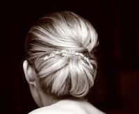 The Grace Kelly Chignon. Timeless.