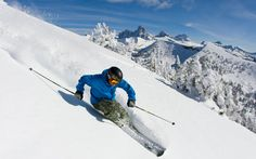 I'd love to be able to see these sights whilst skiing
