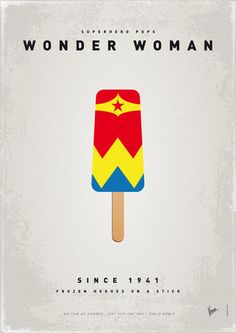 My Superhero Ice Pop: Wonder Woman