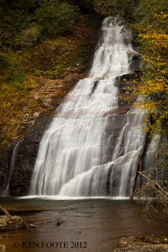 Beautiful Waterfall!   Ken Foote Photography Mind Relaxation, Waterfall Fountain, Waterfalls, Rivers, Beautiful Landscapes, All Over The World, Inspirational, Photography, Outdoor