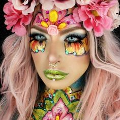Flowers Inspired Makeup Ideas picture2
