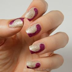 manicurator: Free Hand Nail Art Design with Zoya Fall 2013 Pixie Dust