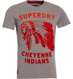 Superdry T-shirt Cheyenne Entry Gris