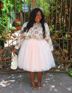 Musings of a Curvy Lady, Plus Size Fashion, Fashion Blogger, Cool Gal Blue, Traveling Tutu, Tutu, Women's Fashion, Style Hunter, The Outfit