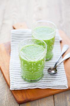 100% Végétal : green tomatoes gaspacho