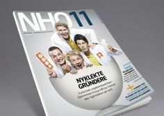 NHO organization magazine. Pinned from www.redink.no.