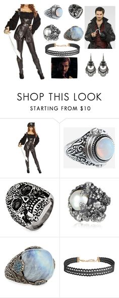 """""""To Neverland"""" by melissa-bvb ❤ liked on Polyvore featuring Rock 'N Rose, West Coast Jewelry, Ugo Cacciatori, Stephen Dweck, Humble Chic and Free Press"""