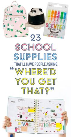 Back to school shopping is the most wonderful time of the year.