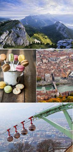 Malownicze Grenoble <3  Alpejski raj w którym każdy znajdzie coś dla siebie - wycieczki po górach, piękną starówkę i morze w oddalone zaledwie godzinę drogi