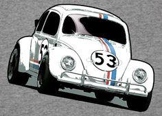 VW Volkswagen Beetle Herbie T-Shirt S M L XL XXL XXXL