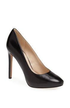 49966c92d516 Nine West  Nixit  Leather Pump available at  Nordstrom Leather Pumps