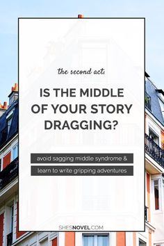 Is the middle of your story dragging? Don't know how to get your hero from the hook to the climax? Check out this second act breakdown and learn how to write gripping adventures today! Tips from Kristen Kieffer over at She's Novel.