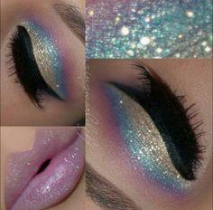 Cute eye make up Pretty Makeup, Love Makeup, Makeup Inspo, Makeup Art, Makeup Inspiration, Makeup Ideas, Simple Makeup, Makeup Pics, Dead Makeup