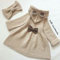 Best 12 Simple and Cute Baby Cardigan Free Pattern Images for 2019 – Kids Crochets – SkillOfKing. Crochet Baby Jacket, Crochet Coat, Baby Girl Crochet, Crochet Baby Clothes, Crochet Cardigan, Crochet For Kids, Baby Cardigan, Baby Sweaters, Baby Knitting Patterns