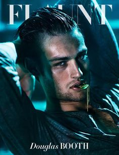 Photography duo Hunter & Gatti captures the striking cover of Flaunt Magazine with actor Douglas Booth. Styling for the shoot is courtesy of Rebecca Corbin-Murray and grooming by Mark Bailey. Douglas Booth, Beautiful Boys, Gorgeous Men, Beautiful People, Pretty People, Flaunt Magazine, Cover Boy, British Actors, American Actors