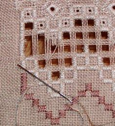 Hardanger Cutting Error and How to Fix It.