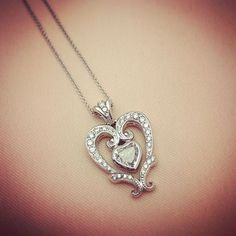 Our team of jewelry designers & shop is so talented! New diamond pendant designed & created right here in our store.