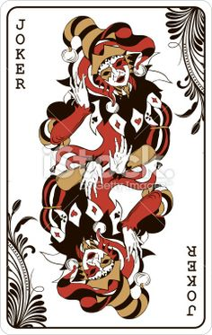 Double Joker Playing Card