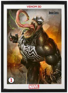 Venom Comics, Venom Art, Marvel Venom, Marvel Comics Art, Motion Images, Image In Motion, Comic Books Art, Comics