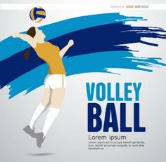 Plantilla Chica Voleibol. Volley Ball.