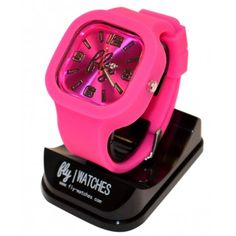 Fly Pretty in Pink LED Watch 2.0 $40