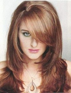 Long Length Soft Layered Face Framed   Haircut. I like the color and cut